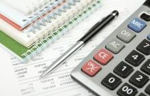 Калькулятор, ручка и тетрадь