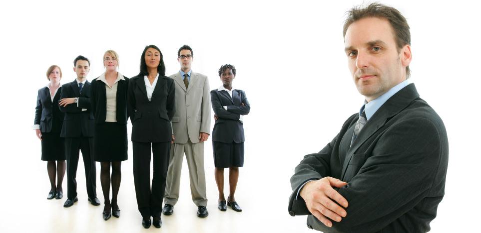Начальник и рабочие
